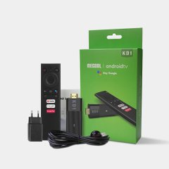 Mecool KD1 2/16, Android TV 10, Smart TV Stick, ТВ Стик